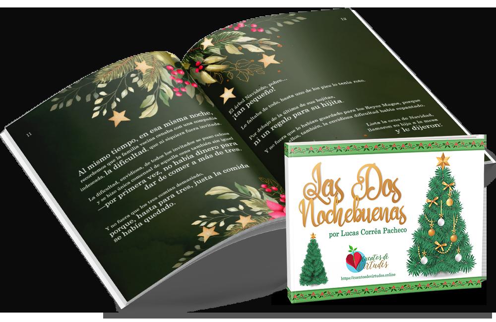 Las Dos Nochebuenas, relato escrito por Lucas Corrêa Pacheco, autor de la serie Cuentos de Virtudes (cuentosdevirtudes.online)